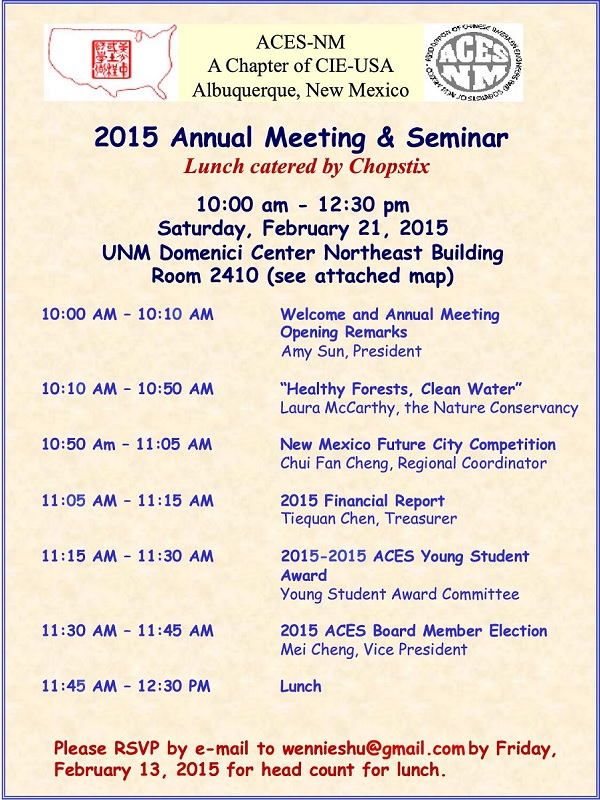 ACES-NM Annual Meeting (2015-02-21)
