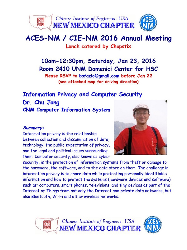 ACES-NM Annual Meeting (2016-01-23)