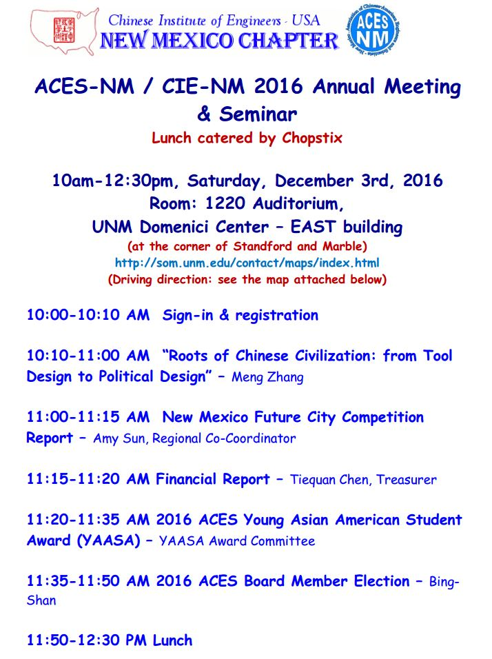 ACES-NM Annual Meeting (2016-12-03)