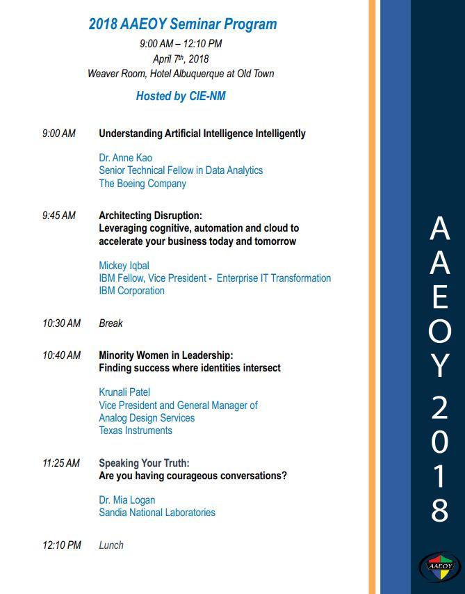 ACES-NM Seminar (2018-04-07)